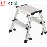 Kruk van de Stap van het Aluminium van de Ladder van de Stap van de Leverancier van China de Eenvoudige