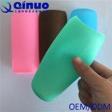 Luva de vidro do frasco do silicone da água da cor diferente