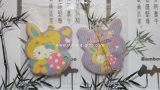 Coches de alta calidad papel colgantes Ambientador para la promoción (YH-AF023)