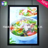 Cadre photo magnétique affichage publicitaire boîte lumineuse à LED avec l'aluminium