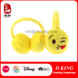 Het grappige Stuk speelgoed van de Oorbeschermers van de Pluche van het Beeldverhaal van Emoji van de Emotie voor Jonge geitjes/Volwassenen