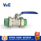 Valvola a sfera sanitaria dell'acciaio inossidabile PPR (VG-A76011)