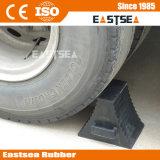 Cuneo di gomma solido della rotella del migliore camion resistente