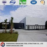 Armazém/oficina projetados pré-fabricados da construção de aço/vertido