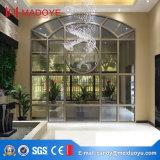 Pared de cortina de aluminio del vidrio de flotador del marco del estilo europeo