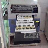 Печатная машина пер с цветастым влиянием печати