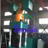 Hydraulisches vertikales Metall bricht Brikett-Maschine mit großer Ausgabe ab
