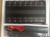 Todo en un Jammer de señal inalámbrica RF 315 / 433MHz 2g / 3G / 4G GSM / CDMA Jammer GPS WiFi VHF UHF Jammer Jam Signal