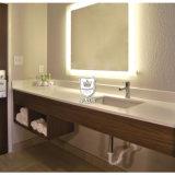 La parete di galleggiamento di utilizzabilità moderna ha appeso la vanità nella stanza da bagno al giorno d'oggi europea dell'hotel