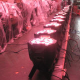 Night Club DJ 18x10W Discoteca LED de la etapa de Luz PAR