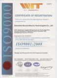 Ce & ISO9001: 2008 Approval Alimentation Alimentation Fréquence Inverter / AC Drive Eds800