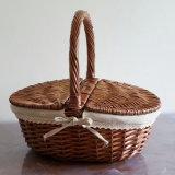 Almacenamiento de mimbre artesanal con la cesta Ecológica (BC-ST1206)