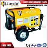 바퀴를 가진 6.5kVA 반동 또는 전기 중요한 시작 가솔린 발전기