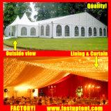 使用料の100人のSeaterのゲストのための最もよい結婚披露宴のイベントのテント