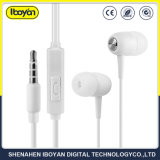 3.5mm Steckverbindung TPE verdrahteter Earbud Kopfhörer für bewegliches Media Player