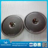 Magneet van uitstekende kwaliteit van de Pot van de Magneet van het Neodymium van de Ring de Ondiepe
