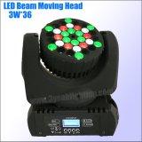 Bewegliches Hauptträger-Licht der Qualitäts-36*3W RGBW LED