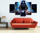 HD gedrucktes Star Wars 5 Stück-Abbildung-Farbanstrich-Wand-Kunst-Segeltuch-Druck-Raum-Dekor-Plakat-Segeltuch Mc-014