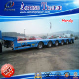 25t-200tons Low Bed Semi Trailer 또는 Semi Lowbed Lowboy Truck Trailer (LAT9320TDP)