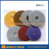 Al Oppoetsend Stootkussen van het Hulpmiddel van de Diamant van Types voor Marmer en Graniet