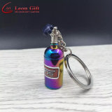 Factory Wholesale Metal Colorful Fashion Nos Bottle Key Chain