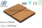 O composto de plástico Madeira Vendas quente WPC deck com a FSC, a SGS, ISO 9001, ISO14001