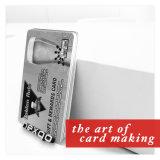 Fabrik-Preis-Großverkauf Embosssing Zahl Belüftung-Plastikgeschenk-Chipkarte