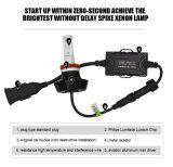 Lmusonu 7g 12V 24V LED des Auto-Licht-H8/H9/H11 LED Auto-Zubehör Scheinwerfer-des Installationssatz-35W 4000lm