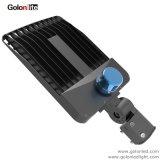 130lm/W 광전지 센서 300W LED Shoebox 주차장 전등 설비