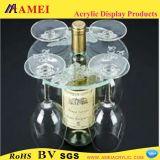 アクリルのワイン・ボトルのホールダー(AAL-51)