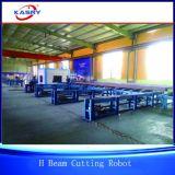 Полностью стальная производственная линия робот вырезывания пламени Profileplasma трубы польностью автоматическая