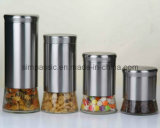 Almacenamiento recubierto de acero inoxidable Jar (SG1338SJ)