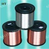 Alambre de acero revestido de cobre eléctrico del cable de transmisión del cable CCS/Tc/Cp para el alambre de terminal de componente