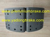 Semi-Metallic 또는 세라믹 Meritor 브레이크 라이닝 5526A