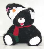 Plush Toys-Christmas l'ours noir (BC6006-4)