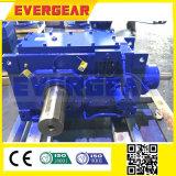 Serien-steife Zahn-Hochleistungsflanke-schraubenartiges industrielles Getriebe der China-Hersteller-hohe Drehkraft-lärmarme H mit Motor