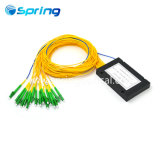 1X16 Sc/APCのABSカセットボックスタイプファイバー光学PLCのディバイダー