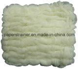 Wellen-Heftzwecke-Tuch-natürliche weiße Farbe