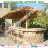 Bungalow van het Water van het Plattelandshuisje van de Hut van Tiki van de Staaf van Tiki van de Eilanden van de Maldiven de Synthetische Met stro bedekte