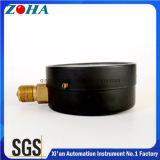 Tamanho 100mm Black Steel Case Medidores de pressão gerais padrão padrão com IP53 Grau de proteção