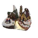 Подарки украшения дома рождества СИД типа села