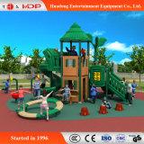 商業屋外の運動場の子供のスライド装置