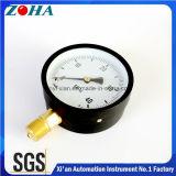 Todos os tipos dos calibres de pressão de bronze do conetor da caixa de aço preta fornecem a fonte grande da quantidade do ODM do OEM
