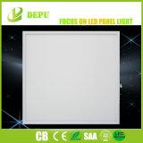 Cuerpo blanco de 40W LED del panel de techo de teja plana blanca fría luz del Panel Super brillante 600 X 600, la calidad Remium-3 años de garantía