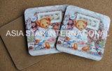 Litttle Impresión perro Cork Coaster (CC34)