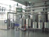 Produção de leite do bloco do descanso que processa fazendo a linha da planta da maquinaria