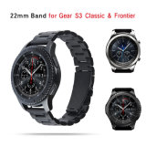 Solvently Stainless Steel Watch strap Three on the left of Bracelet for Samsung Gear S3 Classic/Frontier
