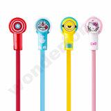 Doraemon стильные наушники с микрофоном
