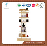 Présentoir à écran tactile en bois personnalisé de 7 couches