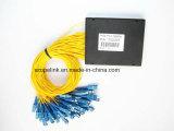 Gpon 원거리 통신 1X64 플라스틱 상자 PLC 쪼개는 도구